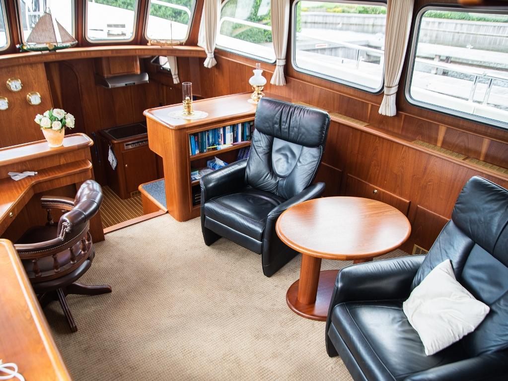 Ook wat betreft luxe en comfort aan boord liet Willem niets aan het toeval over.