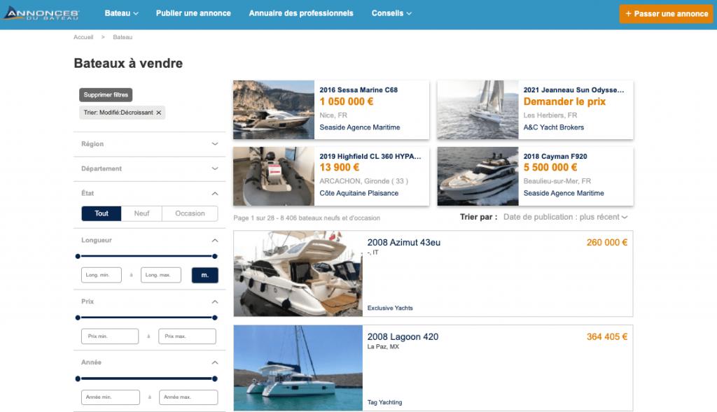 Conseils pour les acheteurs de bateaux