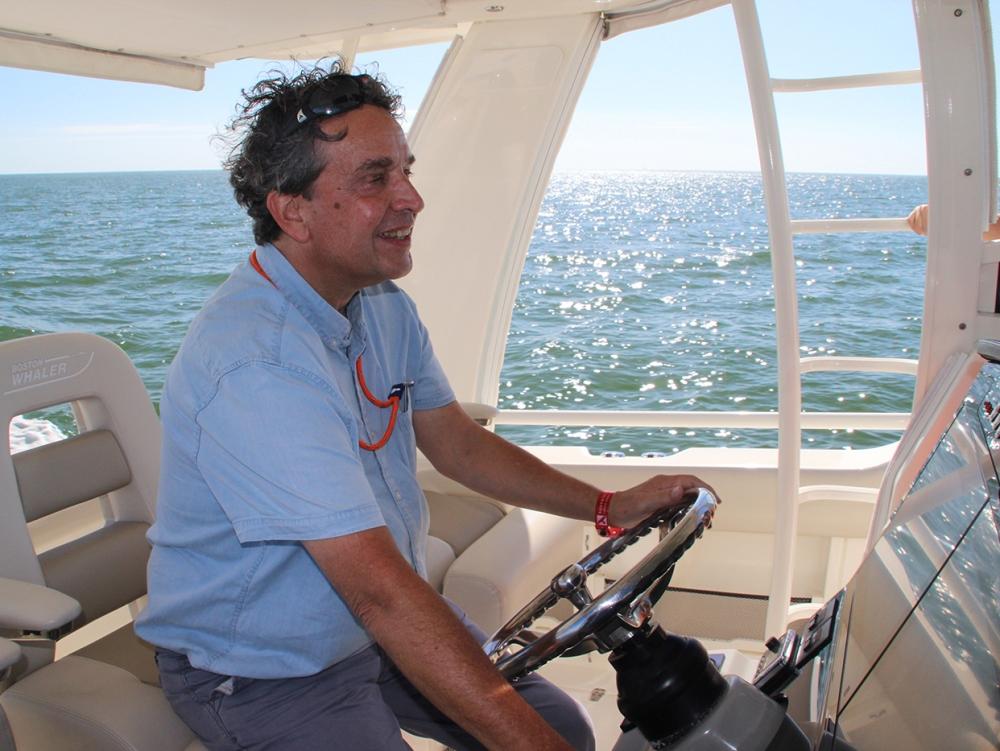 Epco Ongering testte de Boston Whaler 420.