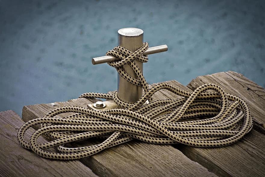 Le nœud de taquet-annoncesbateau