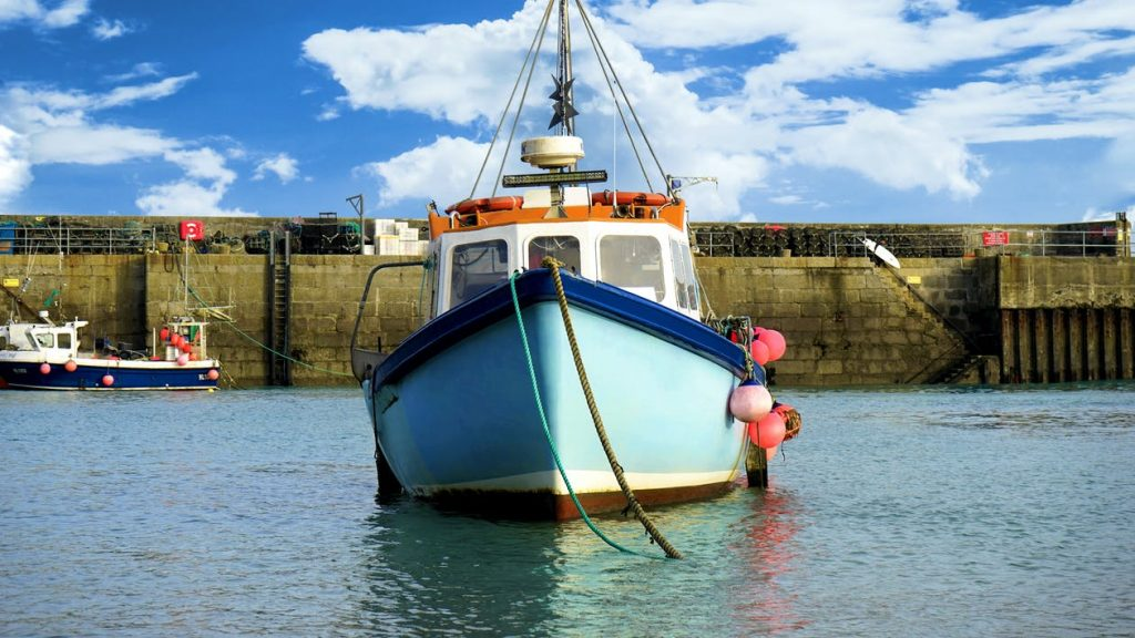 Les parties d'un bateau-