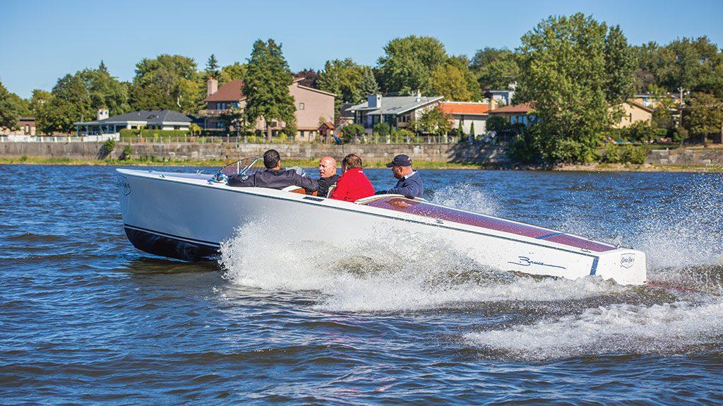 bateaux hybrides et électriques