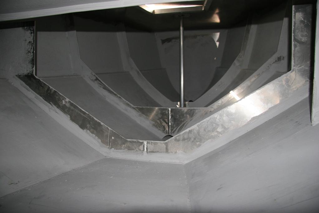 aluminium op spanten