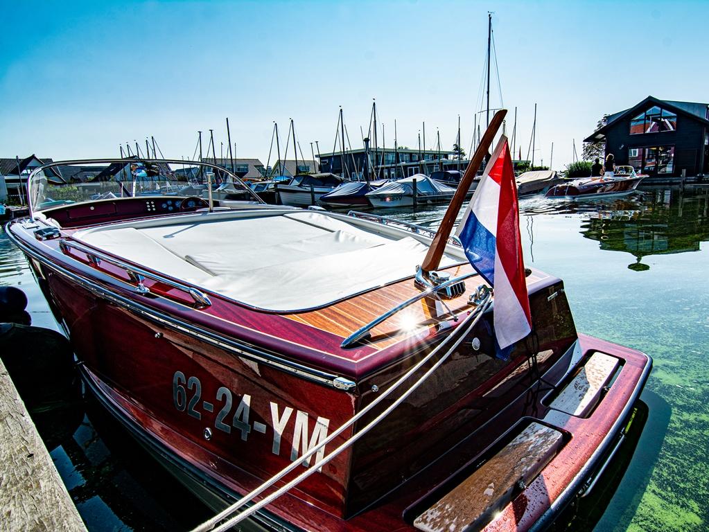 Behalve stijlvol zijn de boten ook praktisch