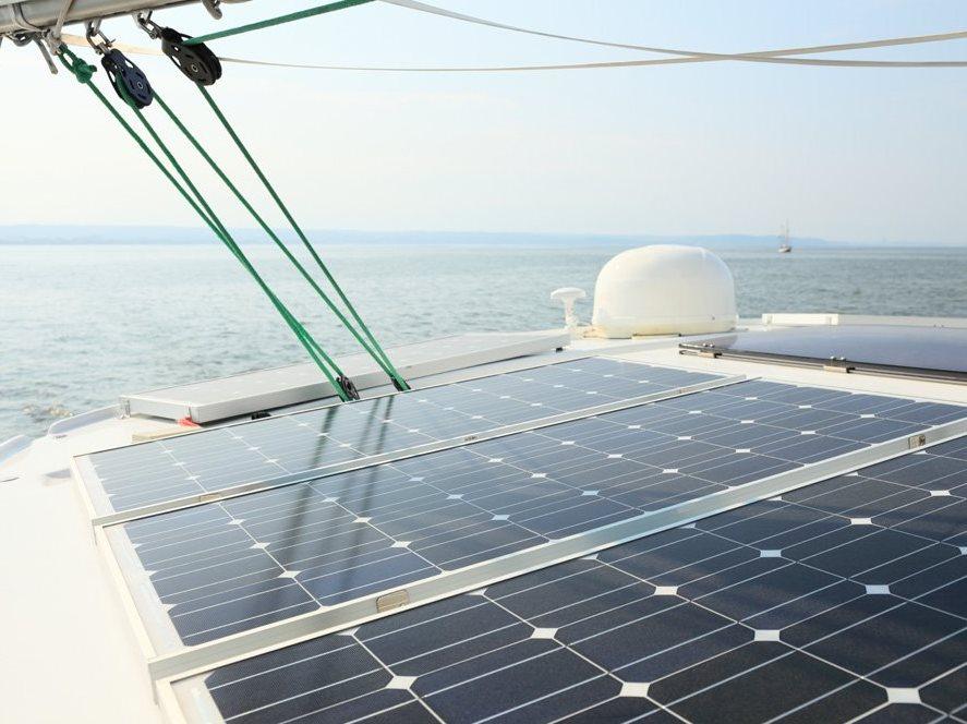zonnepanelen boot